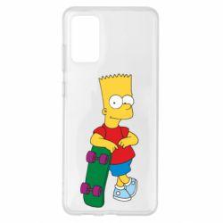 Чохол для Samsung S20+ Bart Simpson