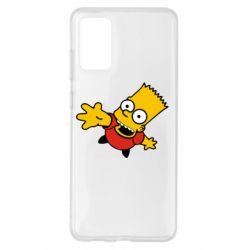 Чехол для Samsung S20+ Барт Симпсон