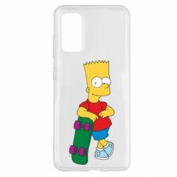Чохол для Samsung S20 Bart Simpson