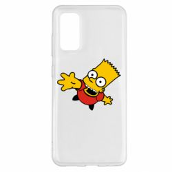 Чехол для Samsung S20 Барт Симпсон