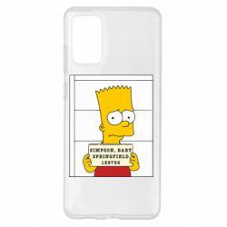 Чехол для Samsung S20+ Барт в тюряге