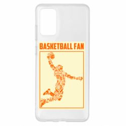 Чохол для Samsung S20+ Basketball fan