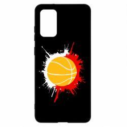 Чохол для Samsung S20+ Баскетбольний м'яч