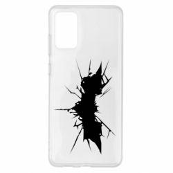 Чохол для Samsung S20+ Batman cracks