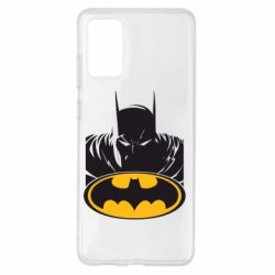 Чохол для Samsung S20+ Batman face