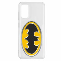 Чехол для Samsung S20 Batman Gold Logo