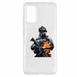 Чехол для Samsung S20 Battlefield Warrior
