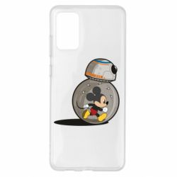 Чехол для Samsung S20+ BB-8 and Mickey Mouse