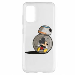 Чехол для Samsung S20 BB-8 and Mickey Mouse