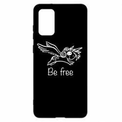Чохол для Samsung S20+ Be free unicorn