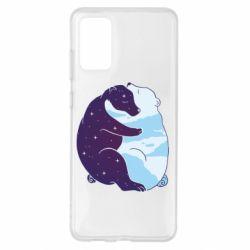 Чохол для Samsung S20+ Bear day and night