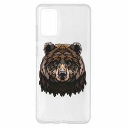 Чохол для Samsung S20+ Bear graphic