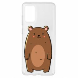 Чехол для Samsung S20+ Bear with a smile