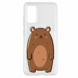 Чехол для Samsung S20 Bear with a smile