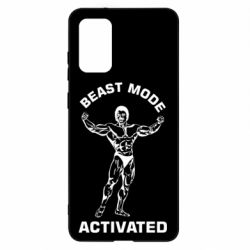 Чехол для Samsung S20+ Beast mode activated