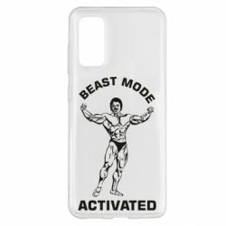 Чехол для Samsung S20 Beast mode activated