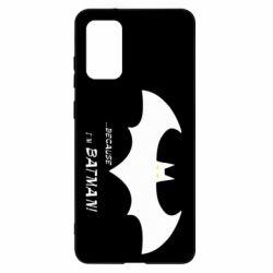 Чохол для Samsung S20+ Because i'm batman