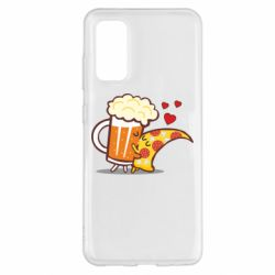 Чохол для Samsung S20 Beer and Pizza were kissed