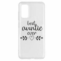 Чохол для Samsung S20 Best auntie ever