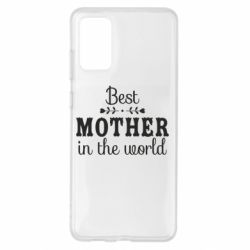 Чохол для Samsung S20+ Best mother in the world
