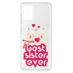 Чохол для Samsung S20+ Best sister ever