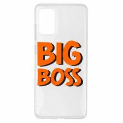 Чохол для Samsung S20+ Big Boss