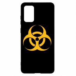 Чохол для Samsung S20+ biohazard