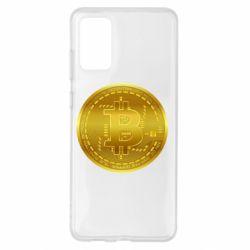 Чохол для Samsung S20+ Bitcoin coin