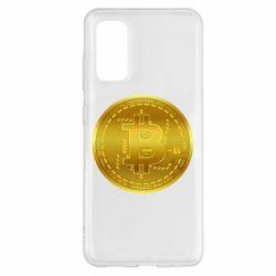 Чохол для Samsung S20 Bitcoin coin