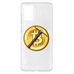 Чохол для Samsung S20+ Bitcoin Hammer