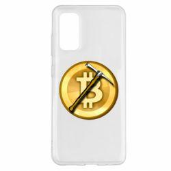 Чохол для Samsung S20 Bitcoin Hammer