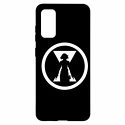Чохол для Samsung S20 Black Widow logo