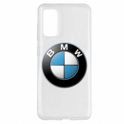 Чехол для Samsung S20 BMW Logo 3D