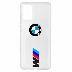 Чохол для Samsung S20+ BMW M