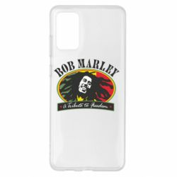 Чехол для Samsung S20+ Bob Marley A Tribute To Freedom