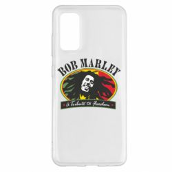 Чехол для Samsung S20 Bob Marley A Tribute To Freedom