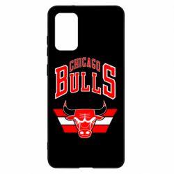 Чохол для Samsung S20+ Великий логотип Chicago Bulls