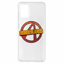 Чехол для Samsung S20+ Borderlands logotype
