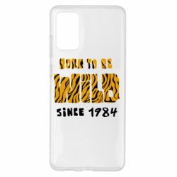 Чохол для Samsung S20+ Born to be wild sinse 1984