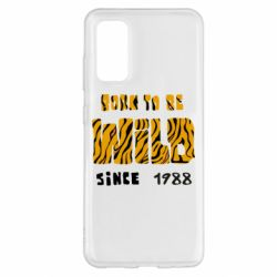 Чохол для Samsung S20 Born to be wild sinse 1988