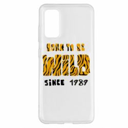 Чохол для Samsung S20 Born to be wild sinse 1989