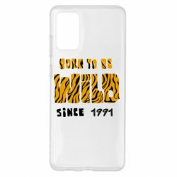 Чохол для Samsung S20+ Born to be wild sinse 1991
