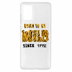 Чохол для Samsung S20+ Born to be wild sinse 1992