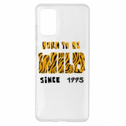 Чехол для Samsung S20+ Born to be wild sinse 1995