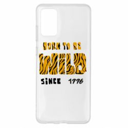 Чохол для Samsung S20+ Born to be wild sinse 1996