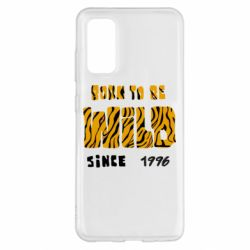 Чохол для Samsung S20 Born to be wild sinse 1996