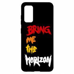 Чехол для Samsung S20 Bring me the horizon