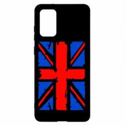 Чохол для Samsung S20+ Британський прапор
