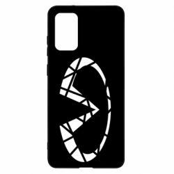 Чохол для Samsung S20+ Broken logo