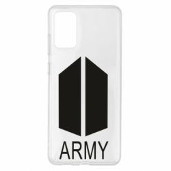 Чохол для Samsung S20+ Bts army